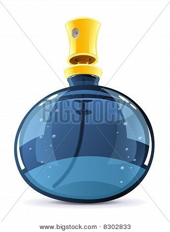 desodorante em garrafa laranja