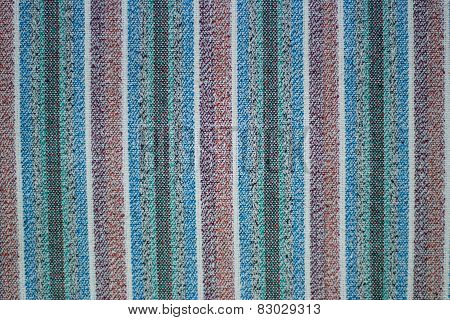 old woolen textile, colored fabric