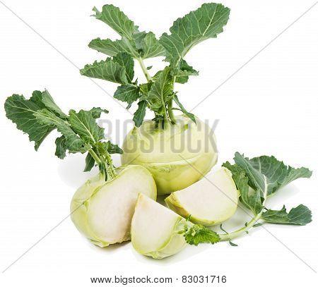 Kohlrabi, Green Vegetable