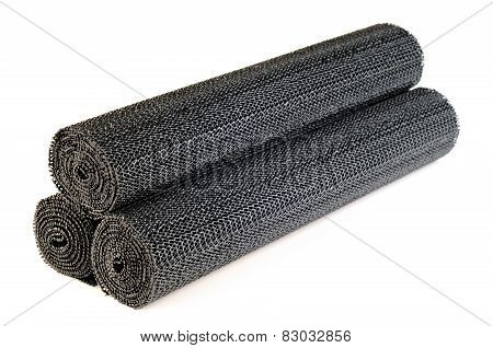 Rolls Of Black Liners For Shelves And Drawers