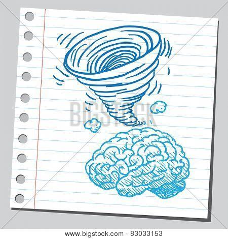 Brain tornado