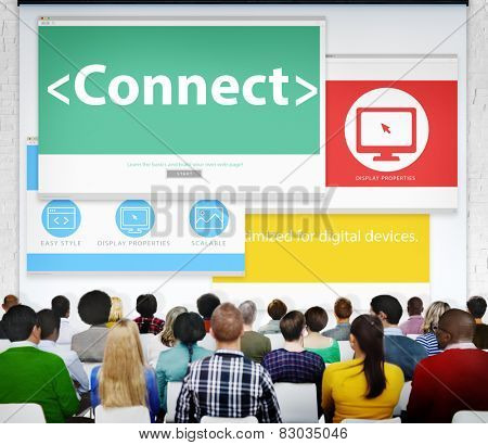 Connect Internet World Wide Web Seminar Learning Concept