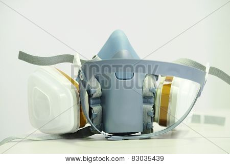 The image of a respiratory mask
