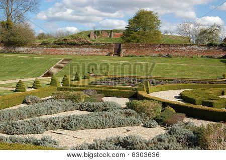 Tudor garden, Basing House