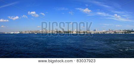 Panoramic Istanbul Scene
