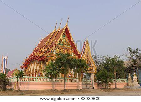 Temple at Wat U Khao