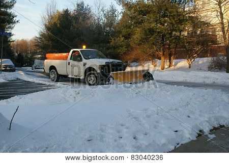 Snow Plow in Northern Virginia