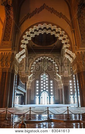 Great Hassan Ii Mosque Interior
