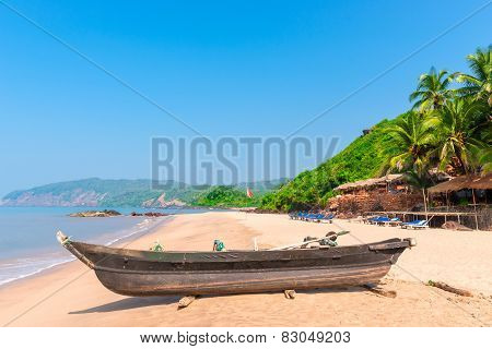 Cola Beach In South Goa, Very Beautiful Beach