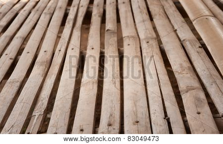 Old Splited Bamboo