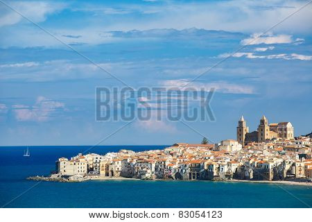 City Of Cefalù, Sicily, Italy