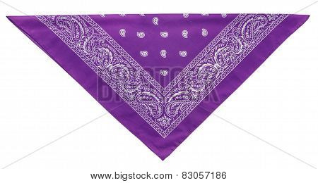 Violet  Bandanna (kerchief)