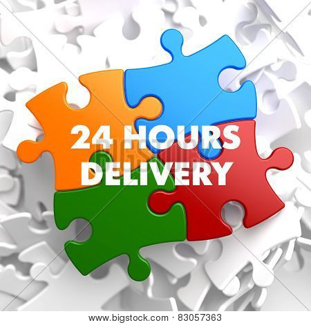 Multicolor Puzzle - 24 hours Delivery.