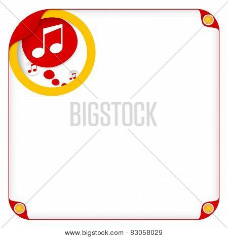 Speech Bubble And Music Icons