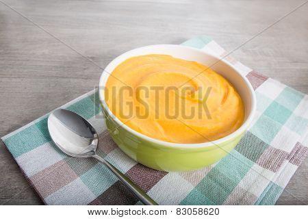 Carrot-potato  Pureed Soup.