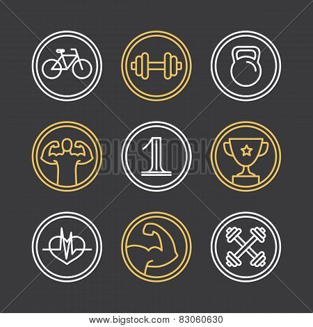 Vector Crossfit Logos And Emblems