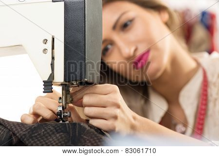 Preparing Sewing Machine