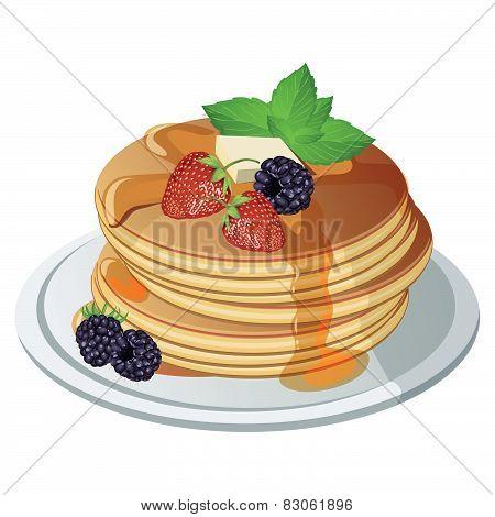 Vector pancake.