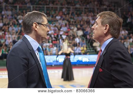 Sergey Bazarevich And Russell Berman