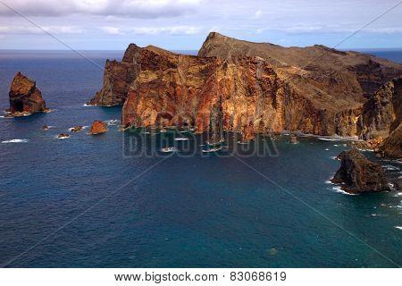 Ponta de Sao Lourenco, at Madeira Island, Portugal