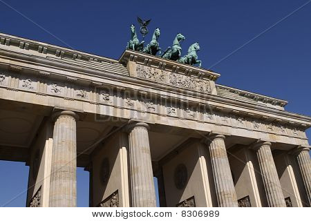 Brandenburg Gate. Berlin