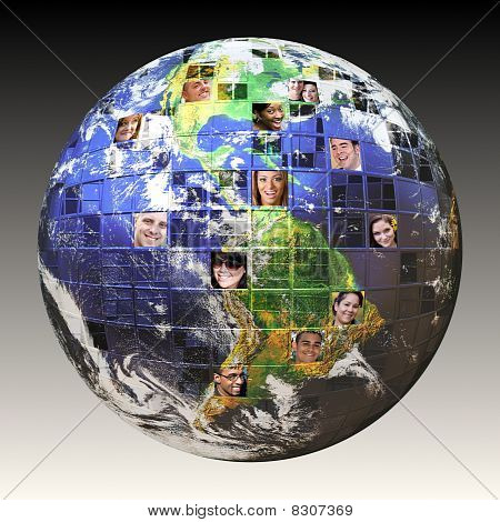 Global Network Of People