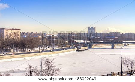 Frozen River Moskva