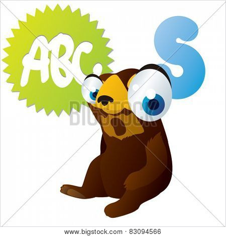 S is for Sun Bear