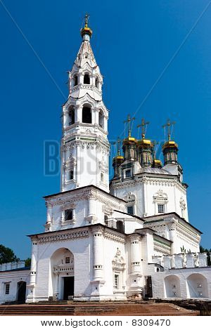 Belltower Of The Piously-troitsk Cathedral 1
