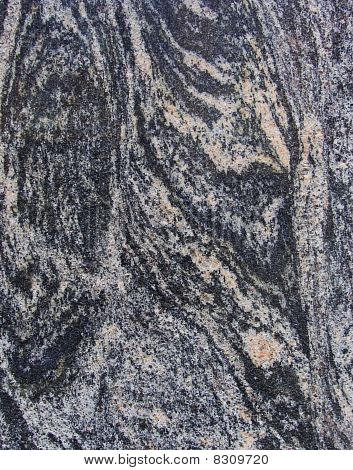 Wave Pink Black Gray Marble Sheet Slab