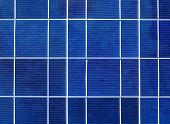 stock photo of solar battery  - Solar power generation technology - JPG