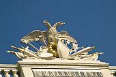 image of schoenbrunn  - The castle of Schoenbrunn in Vienna Austria - JPG