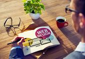 image of creativity  - Web Design Content Creative Website Responsive Concept - JPG