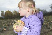 image of little young child children girl toddler  - Happy little child - JPG