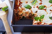 picture of lasagna  - Spinach - JPG