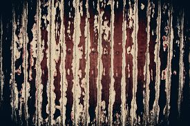 pic of horrifying  - Rusty scratch wooden texture in horrifying grunge concept background - JPG