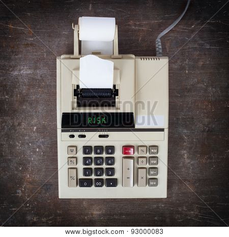 Old Calculator - Risk