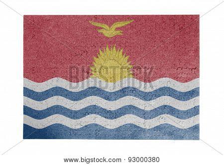 Large Jigsaw Puzzle Of 1000 Pieces - Kiribati