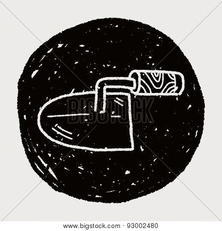Cement Trowel Doodle