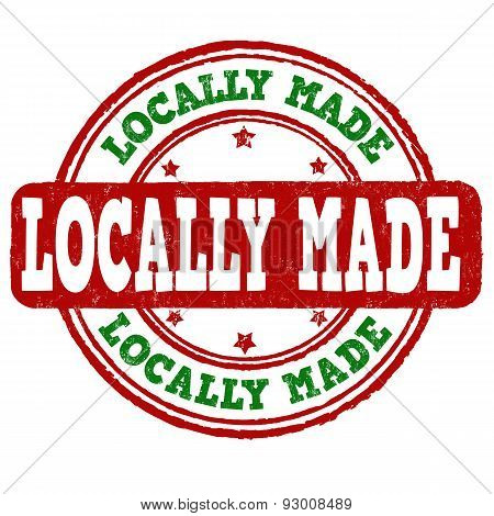 Locally Made Stamp