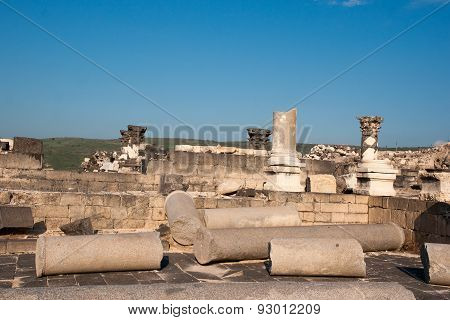 Ruins In Susita National Park
