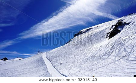 Ski Snow Mountains Field Titlis
