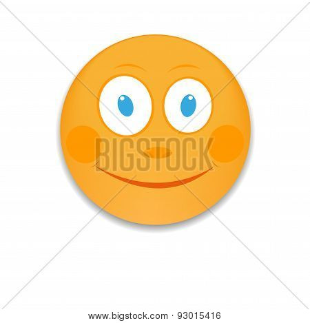 Emoticon With Big  Smile