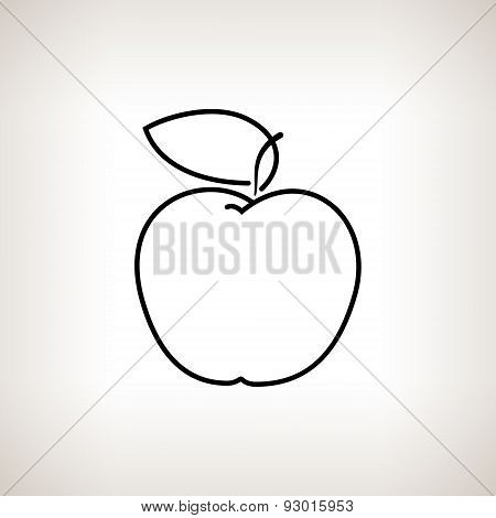 Apple in the Contours