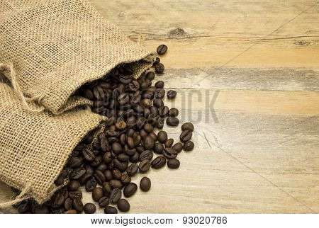 Coffee Beans In Pouches