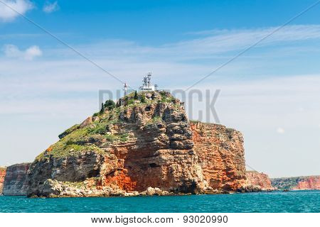 Coastal Landscape Of Kaliakra Headland, Bulgaria
