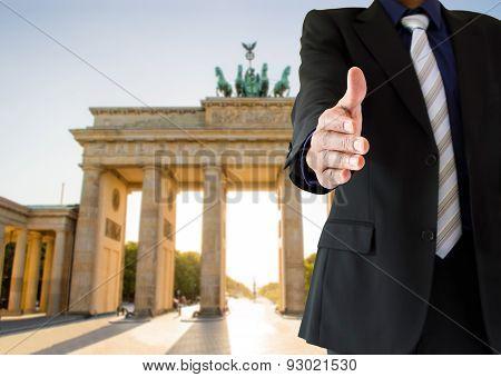 Handshake In Berlin