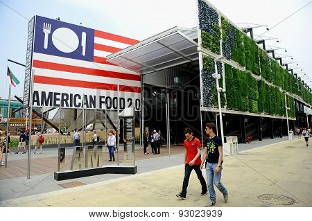 America Pavilion At Expo Milano 2015