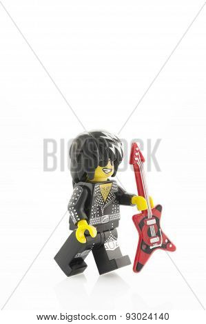 Rock Star Lego Minifigure