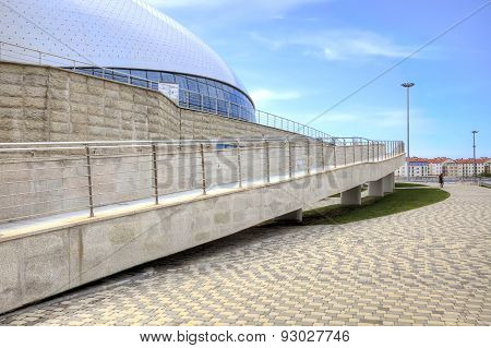 Sochi. Stadium Bolshoy Ice Dome. Ramps For Wheelchairs